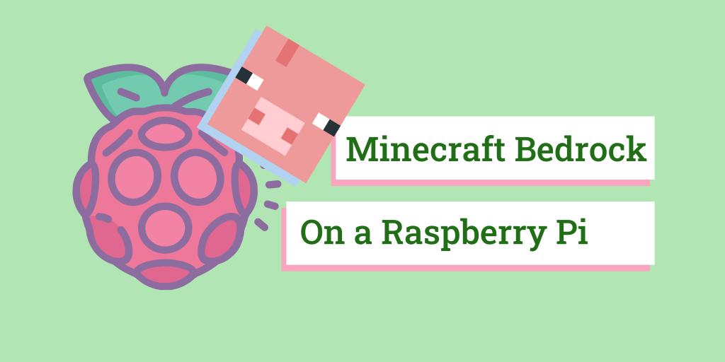 cover image about minecraft on raspberry pi